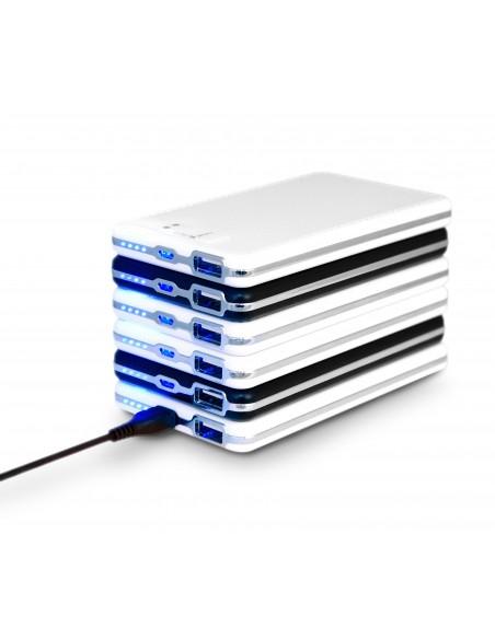 Batteries magnétiques empilables