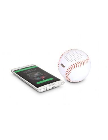 Enceinte nomade ballon Bluetooth - Baseball