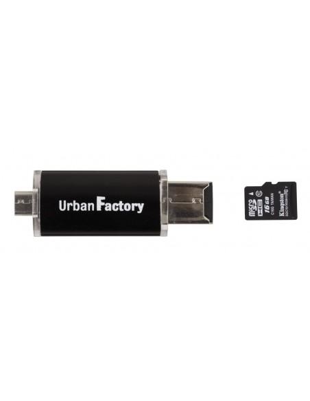 Mini Lecteur de carte (USB/Micro SD - Micro USB)
