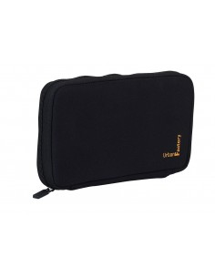 Neopren Sleeve for Hard Disk Noir - memory foam 2,5""