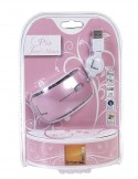 Small Jerry's Mouse - Grey - retractable USB cable - Optical 800dpi