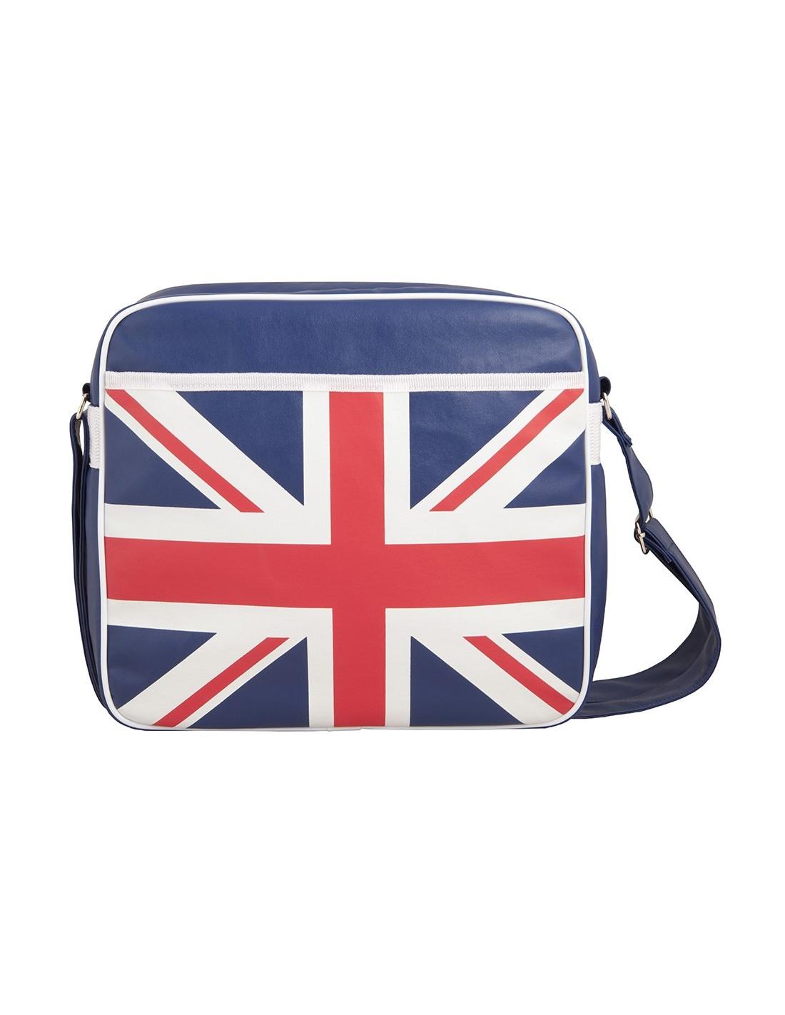 sacoche besace pour ordinateur 12 u0026 39  u0026 39  vintage drapeau anglais